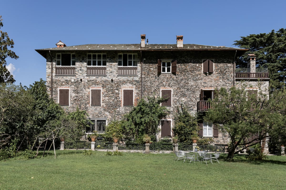 Attico Moderno in Antica Casa di Pietra in un Parco di un ettaro