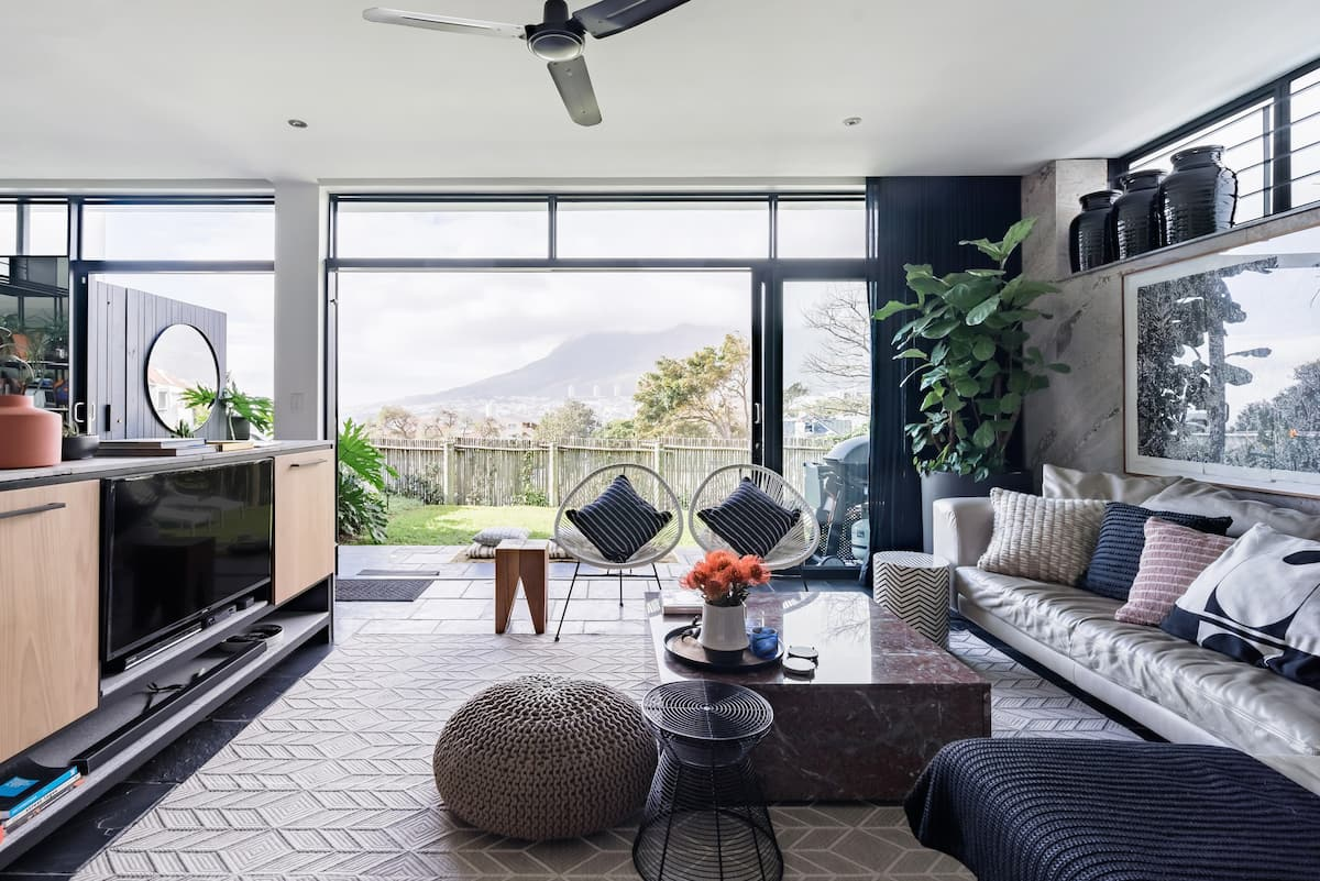 Mod Interior with Epic Table Mountain Views and a Terrace