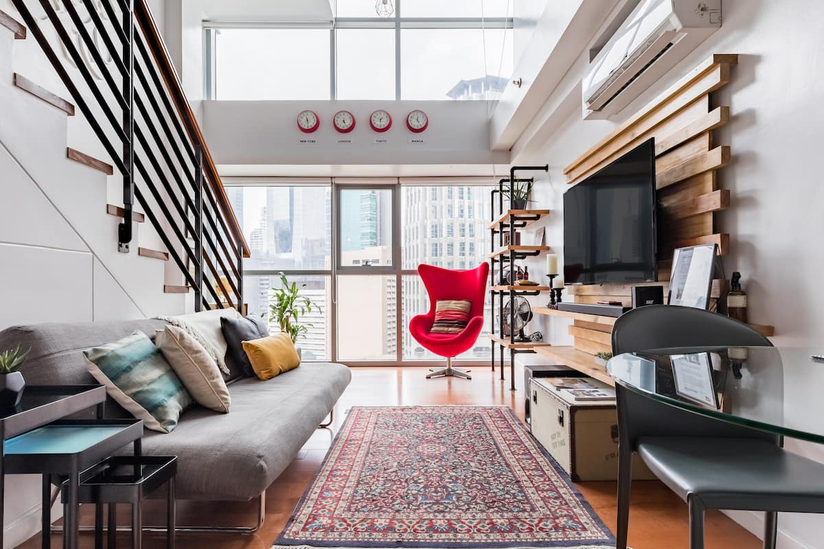 Alto Retro : New York Inspired Urban Loft Greenbelt Makati