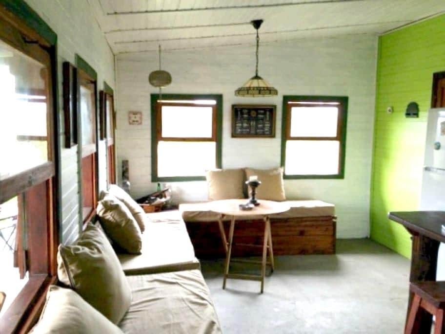 La Arenera - hermosa cabaña - Punta Rubia - Rumah