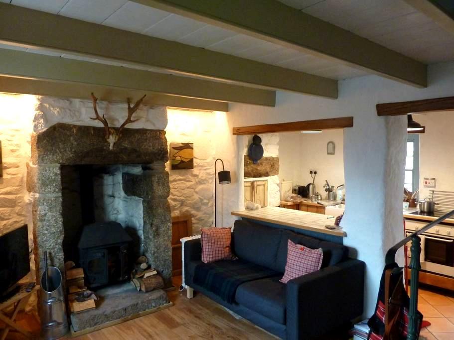 Romantic Traditional Cottage - Ludgvan