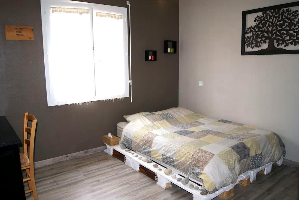 Chambre dans maison à la campagne + petit déjeuner - Saint-Martial-d'Albarède - Haus