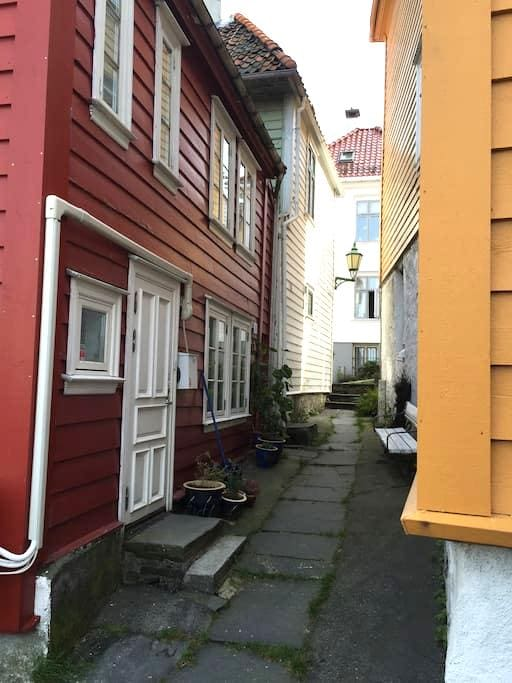 Room in Charming House, in center of Bergen - 卑爾根 - 獨棟