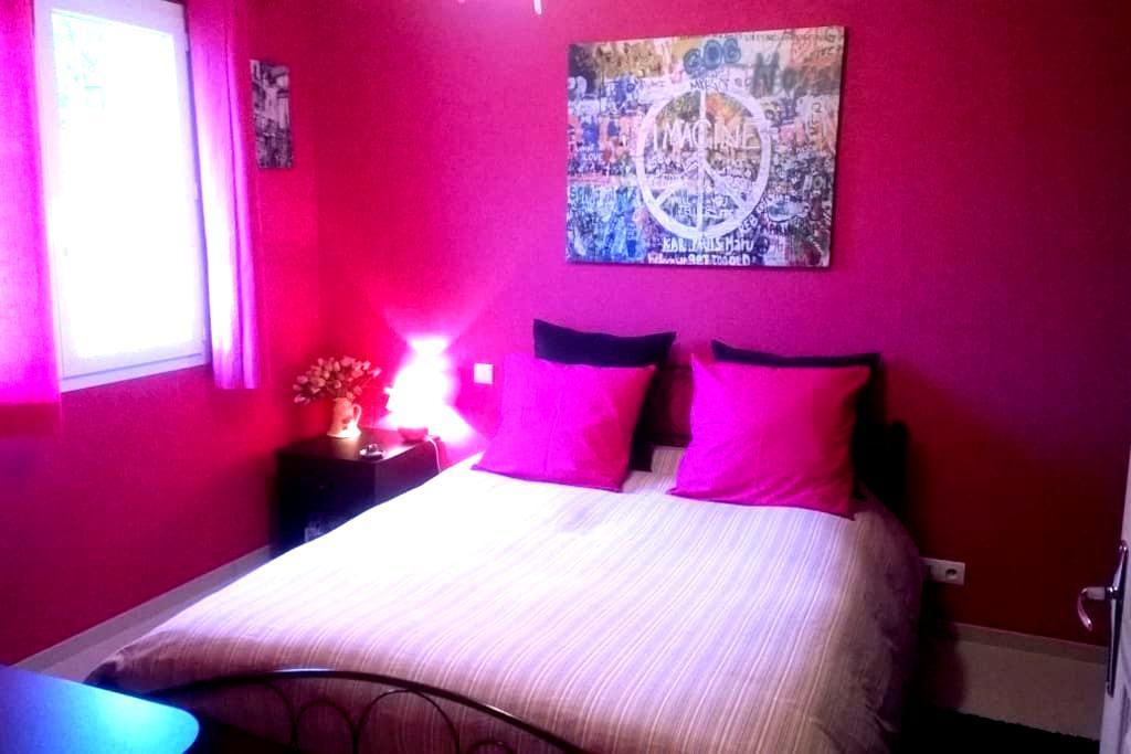 Pink room  - Hauteville-Lompnes - Huvila