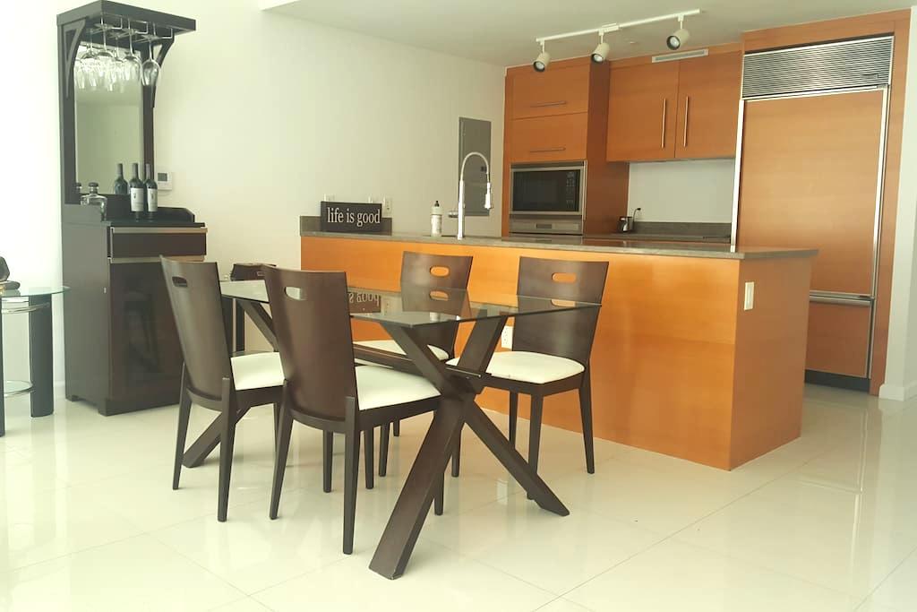 Luxury Master Bedroom in Icon Brickell - Miami - Byt