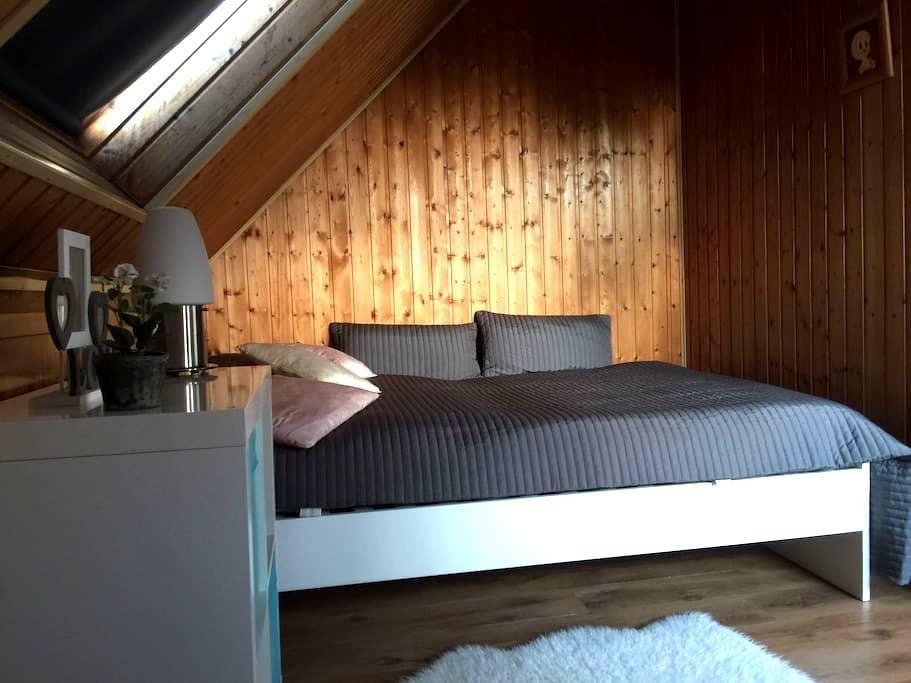Comfortable loft and central accommodation - Bochum - Casa