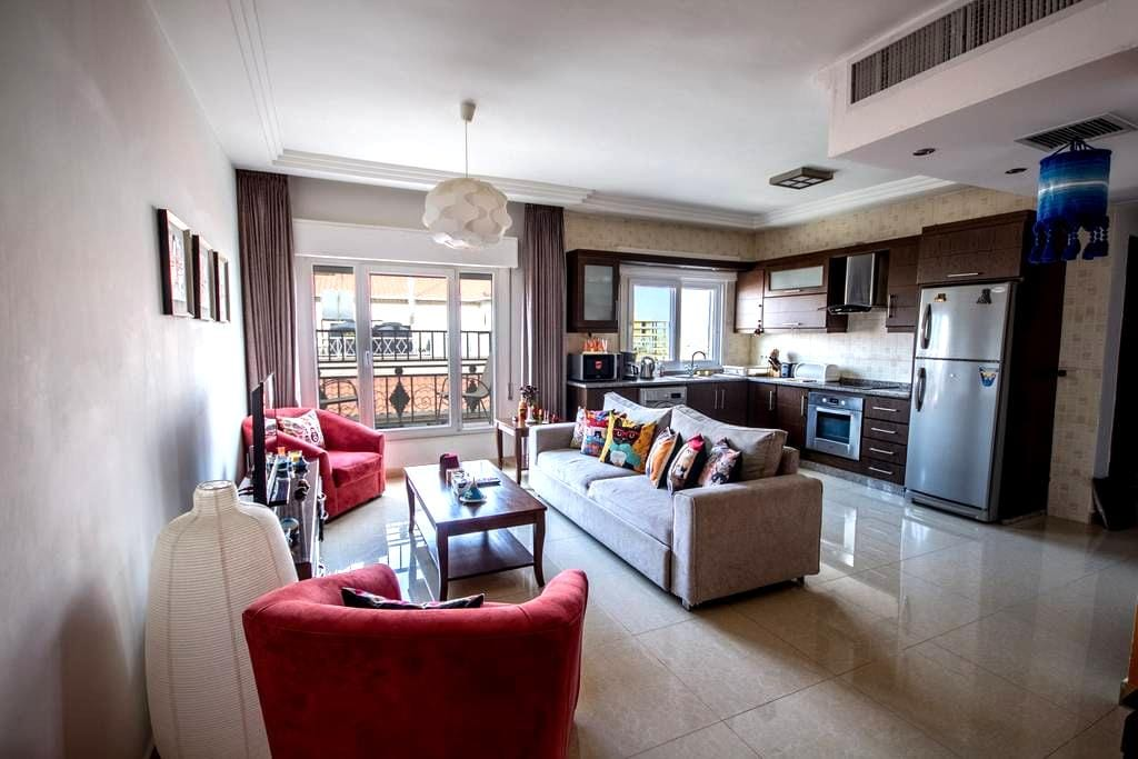 Colourful and sunny private room * - Amman - Byt