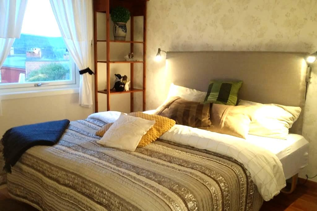 Room1 in quiet area close to nature. 30min to Oslo - Nittedal - Casa