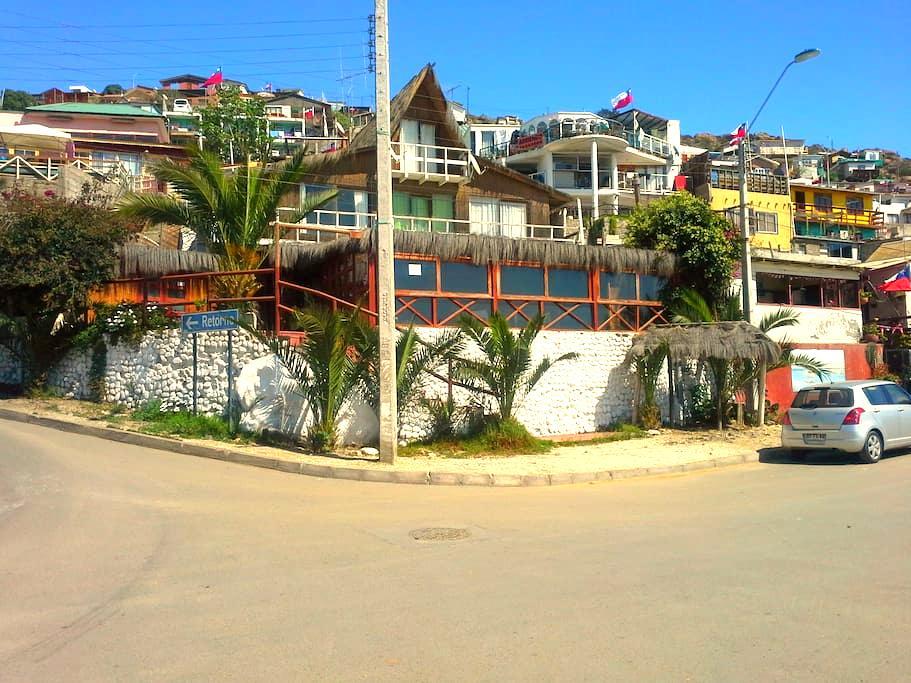 Casa en la Playa en Guanaqueros - Coquimbo