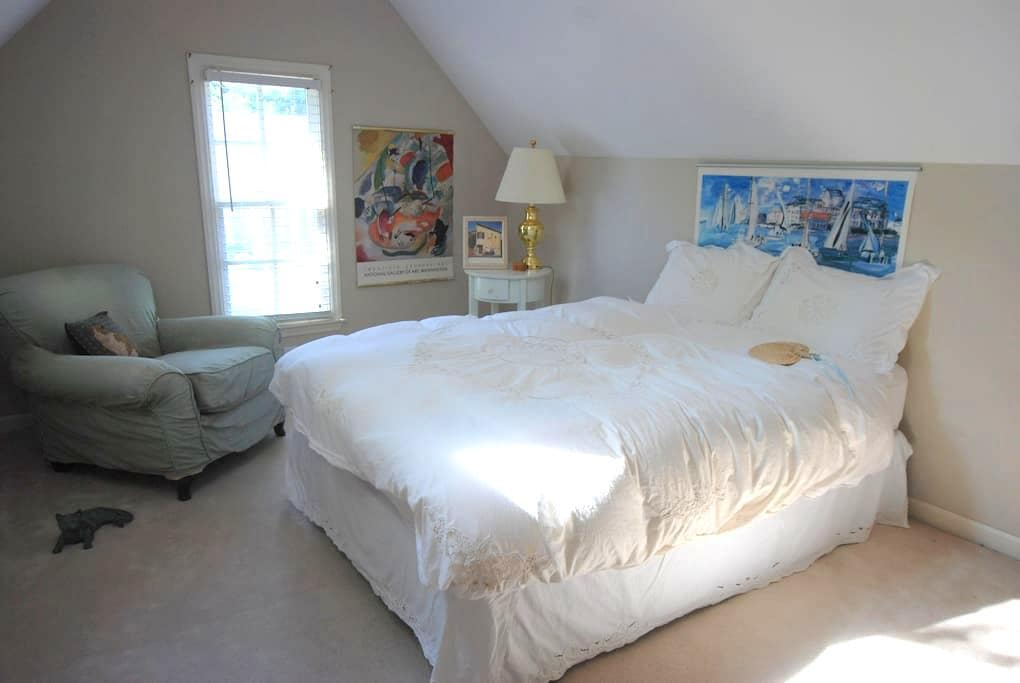 upstairs suite/near Velodrome! - Rock Hill - Hus