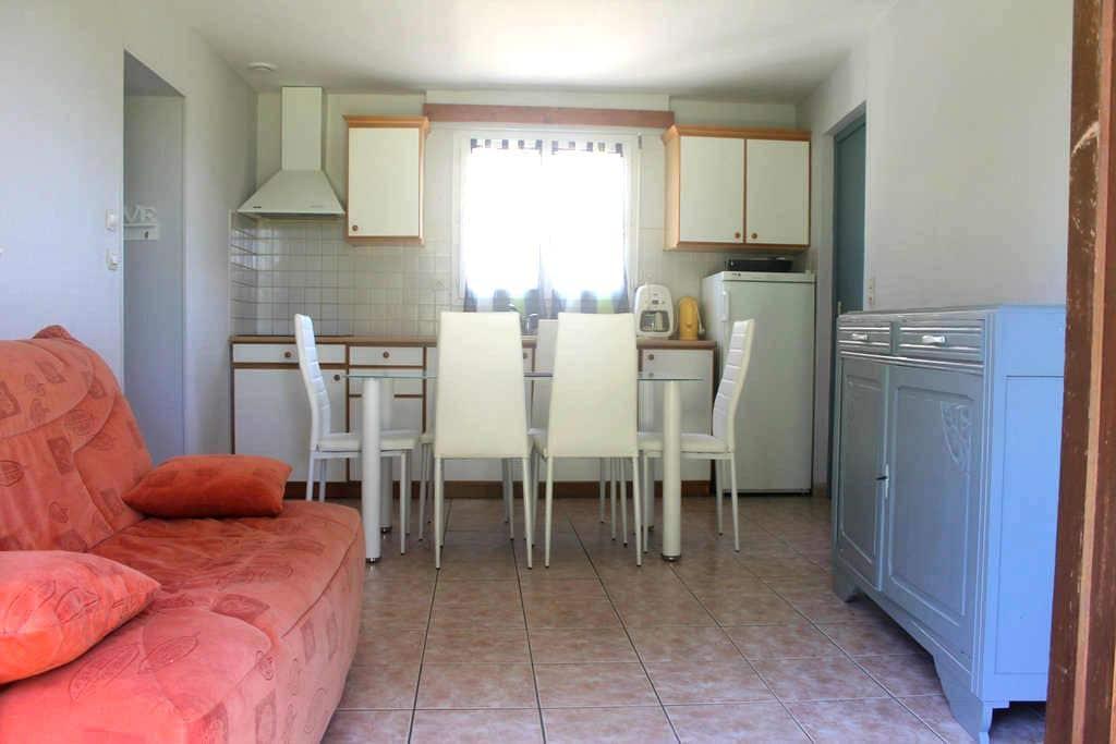 maison 2 chambres, terrain devant - Arvert - Casa