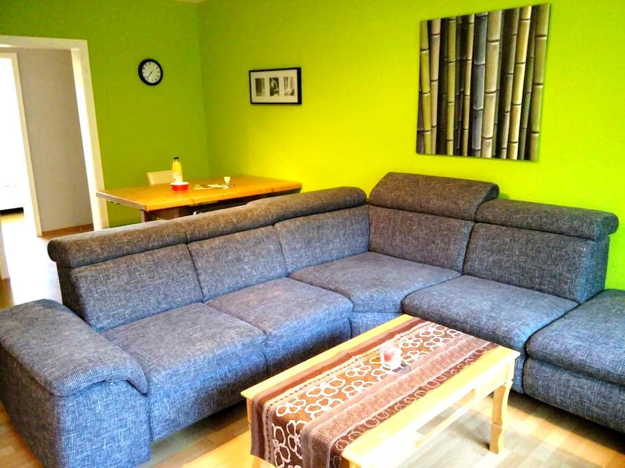 Ruhig, zentral mit 2 Schlafzimmern - Bad Nauheim - Apartment