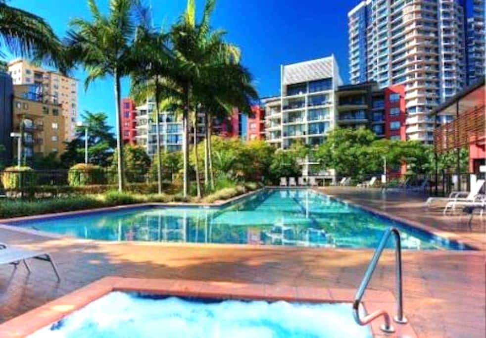 Tropical Oasis in Kangaroo Point - Kangaroo Point - Wohnung