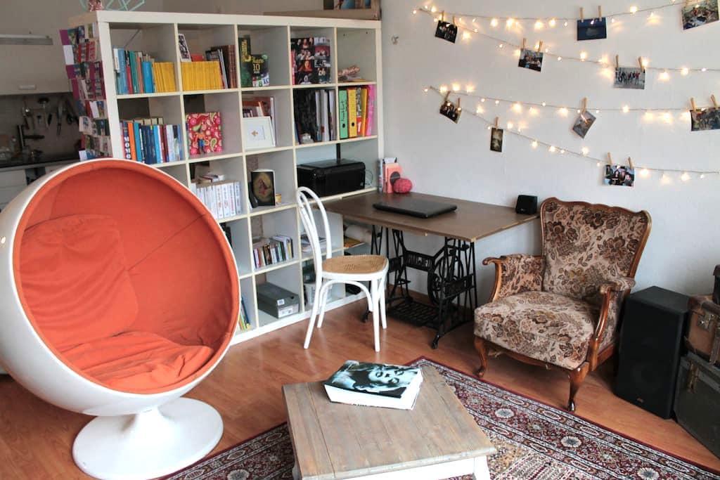 Gemütlicher 2-Zimmer-Altbau im Bismarkviertel - Augsburg - Appartement