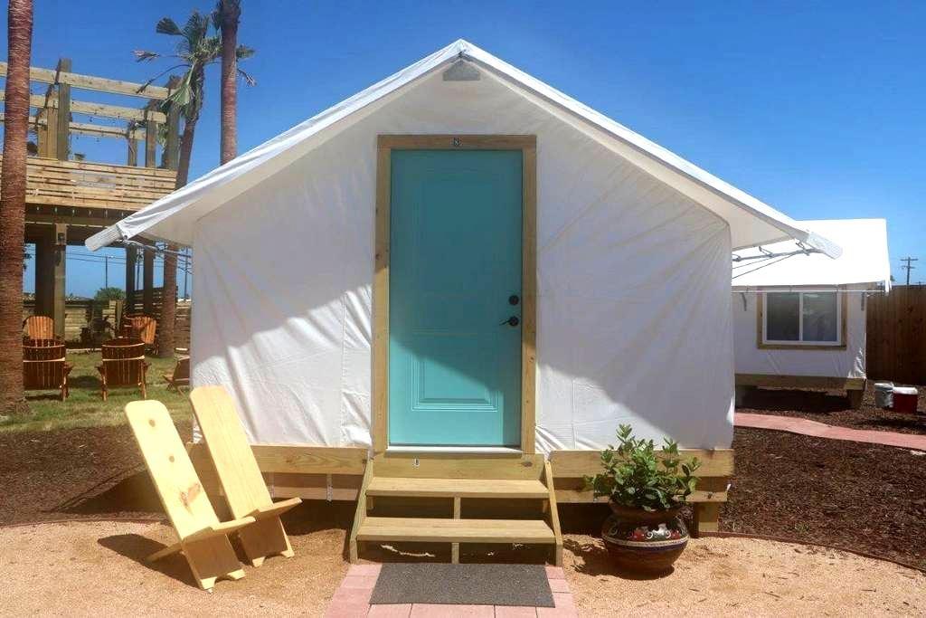 Camp Coyoacan Tent Bungalow #9 (Large) - Port Aransas