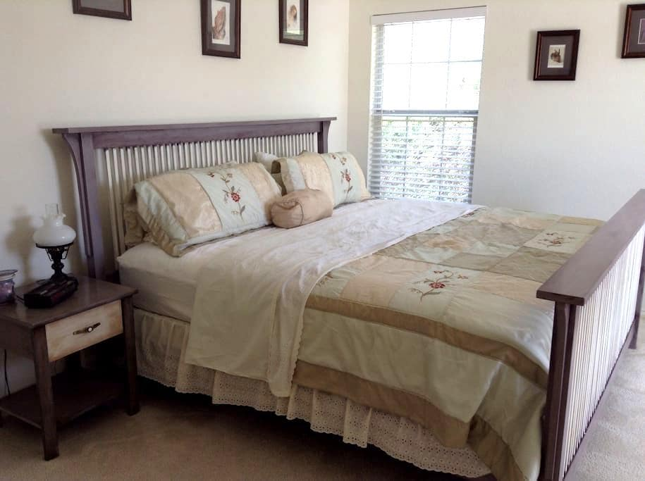 DownTown Pville Private Room & Bath - Pflugerville - Casa