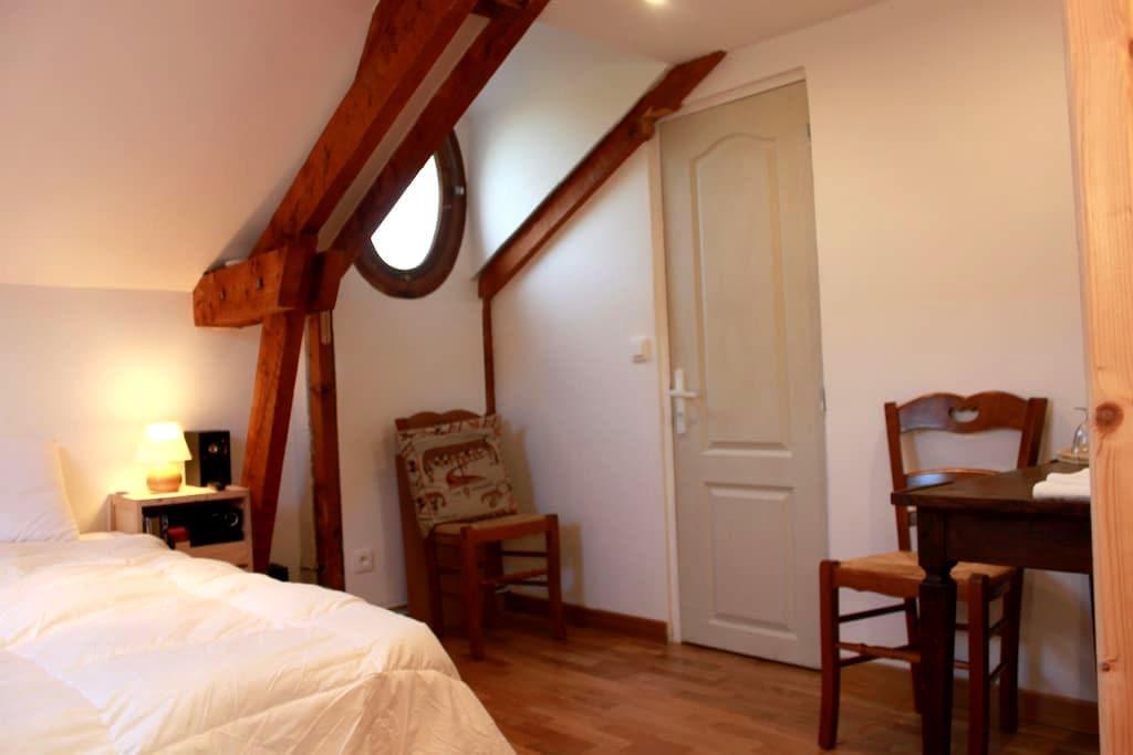 Chambre rurale Saint Jean-Baptiste - Les Andelys - Pension