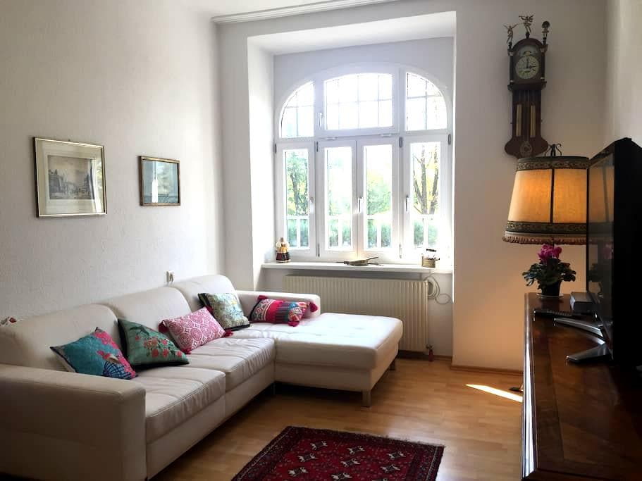 Spacious bright flat in front of Inn river - Innsbruck