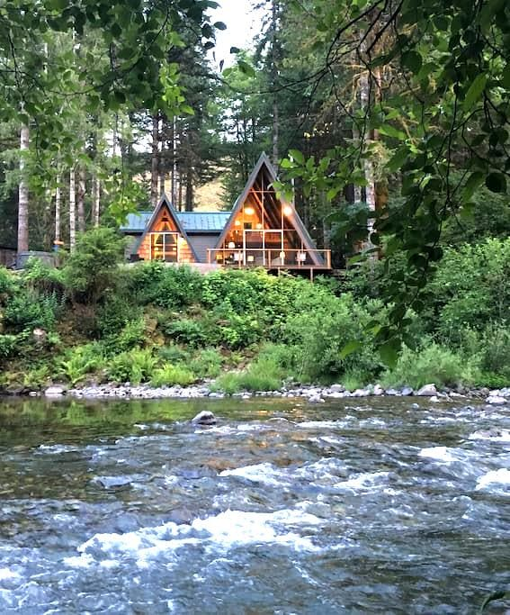 Treehouse on the Little North Fork - Lyons - Huis