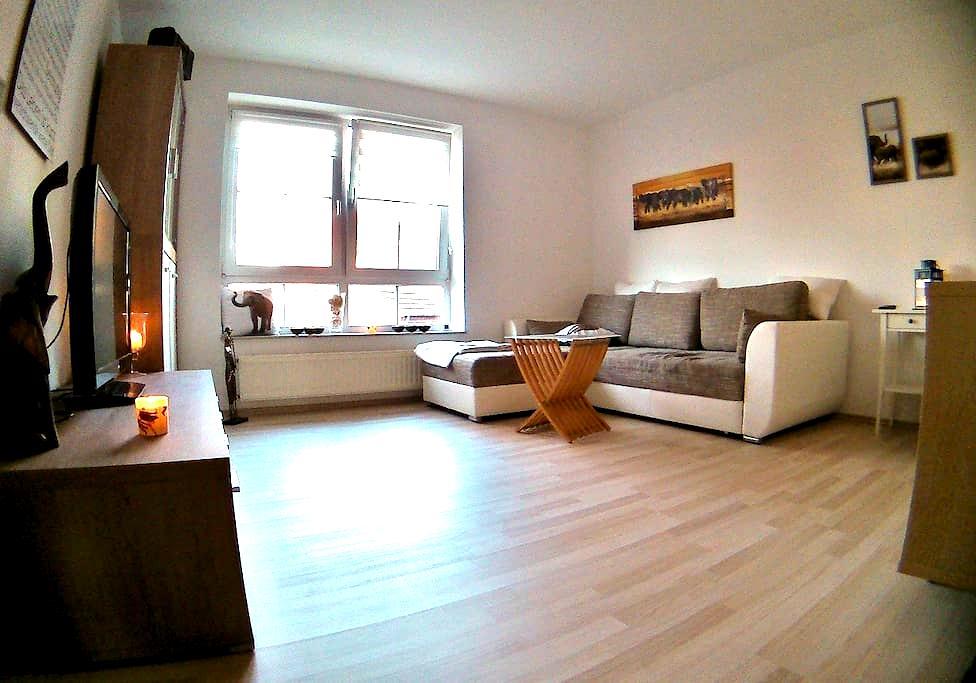 Schöne Wohnung im Zentrum von Lilienthal - Lilienthal - Apartment