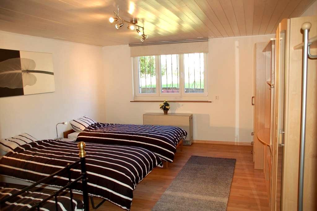 Dreibettzimmer mit Küche - Allschwil - Apartment