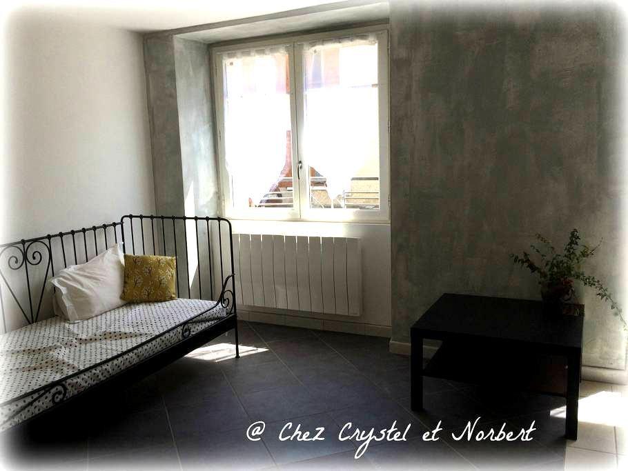 @Chez Crystel et Norbert - La Côte-Saint-André - Apartemen