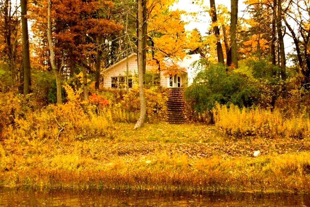 Scenic Riverfront Cottage Oasis - Frankenmuth - Casa de campo