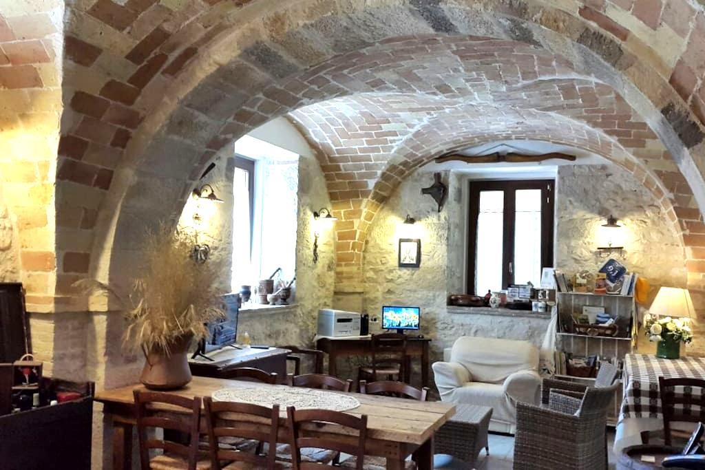 ROOM GRAN SASSO SUITE - CASALE CENTURIONE - Manoppello, Pe - Bed & Breakfast