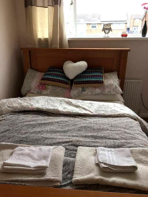 Lovely Modern Double Room - Stoke-on-Trent - Ev