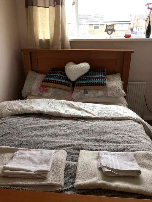 Lovely Modern Double Room - Stoke-on-Trent - Talo