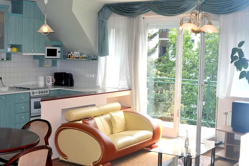 Demanding Apartman(82m2!) in Győr - Győr - Apartamento