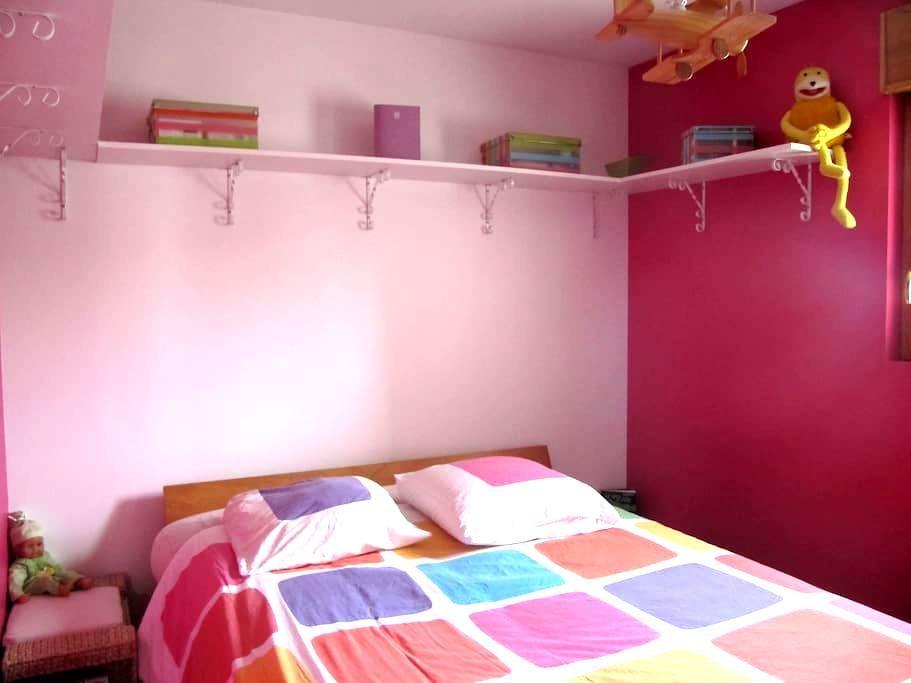 Chambre avec TV dans hameau prox A83 et aéroport - Le Bignon - Dom
