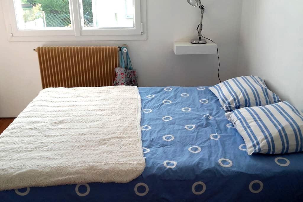 Chambre avec lit 2 places - Compiègne - 独立屋