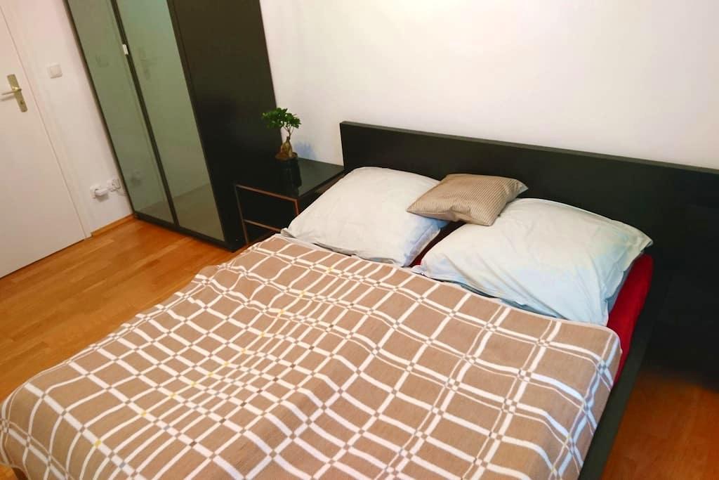 Queensize bed in center of Munich - München - Apartment