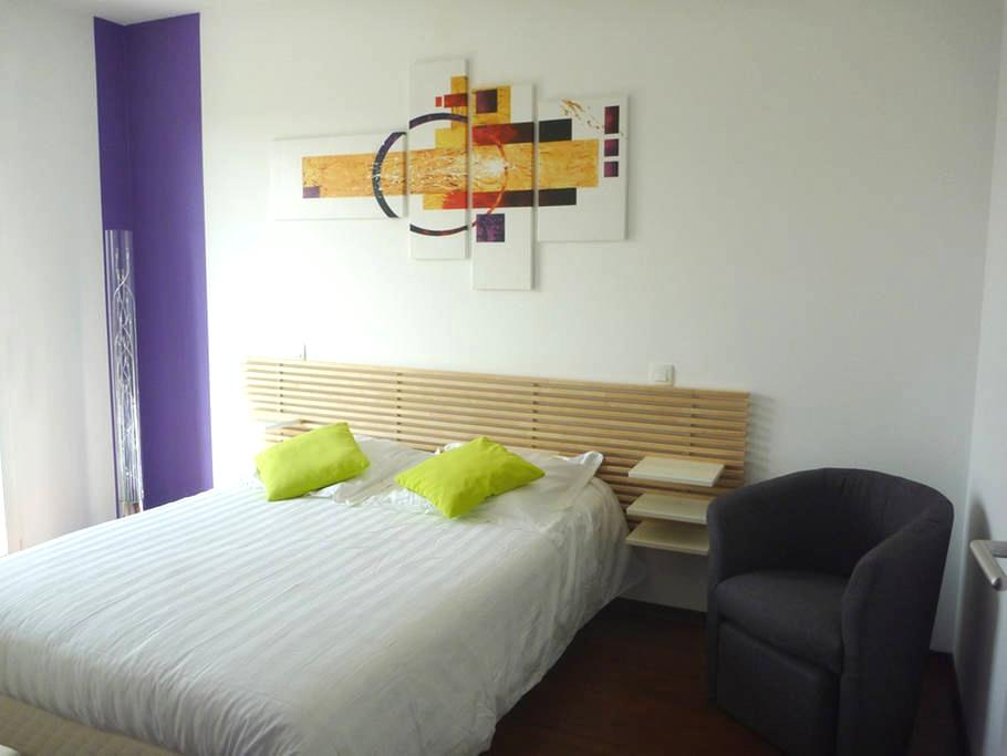 Chambre lumineuse, moderne au calme - Rieux-Volvestre - Casa