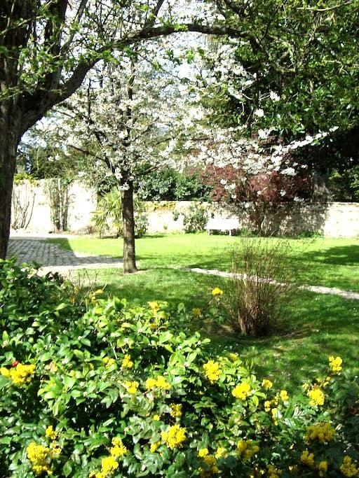 Chambre calme, jardin proche gare - Clisson - Haus