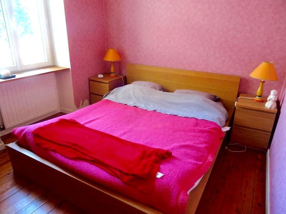 Chambre à 20 mn de Lyon, 15 mn Pérouges, la Dombes - Montluel