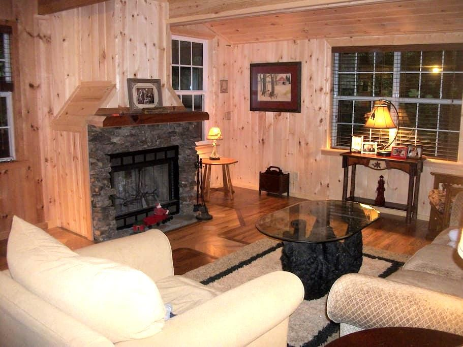 Cabin on Pink Mountain - near Helen - Cleveland - Huis