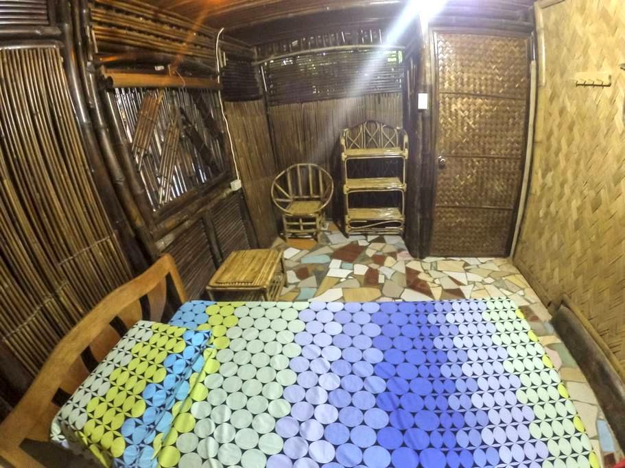 Refreshing Bamboo Room - Puerto Princesa - House