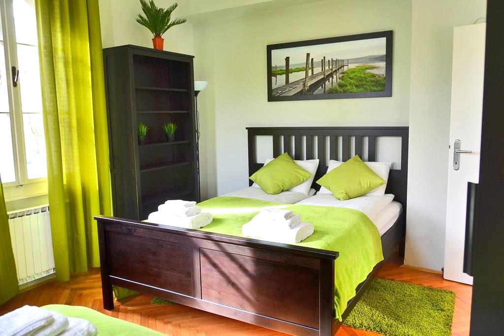 Riverview room, b&b, guesthouse Soul Ljubljana - Lubiana - Bed & Breakfast