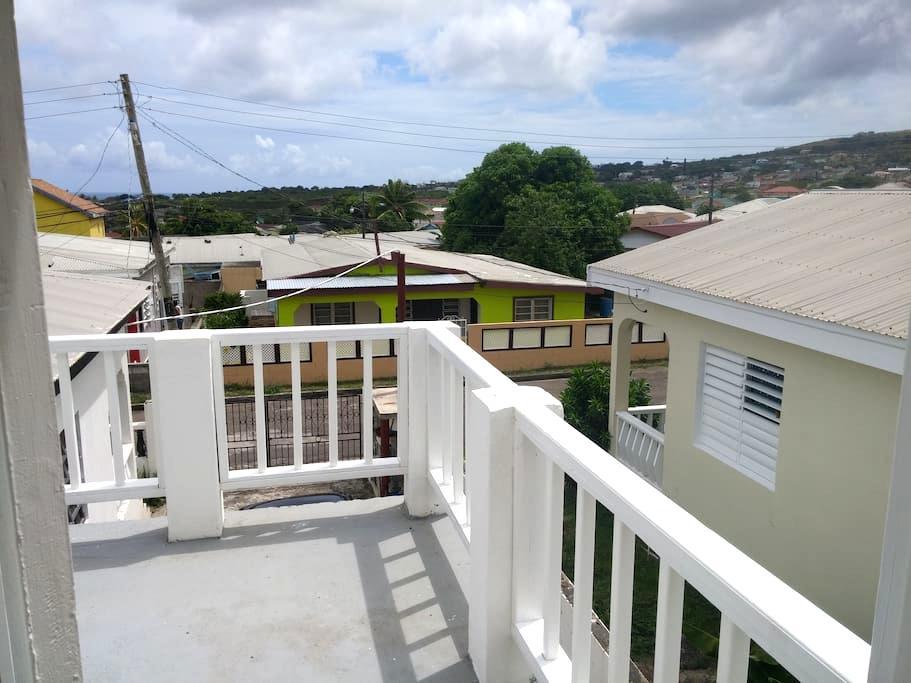 Cozy New Road Apartment (St.Kitts) - Huoneisto