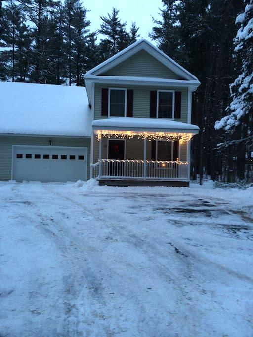 3 BR home near downtown Concord NH. - Concord - Huis