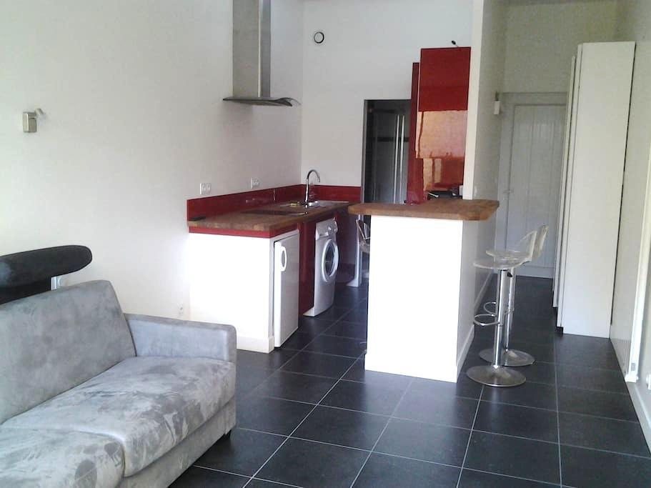 studio Caen centre avec terrasse - Caen - Apartment