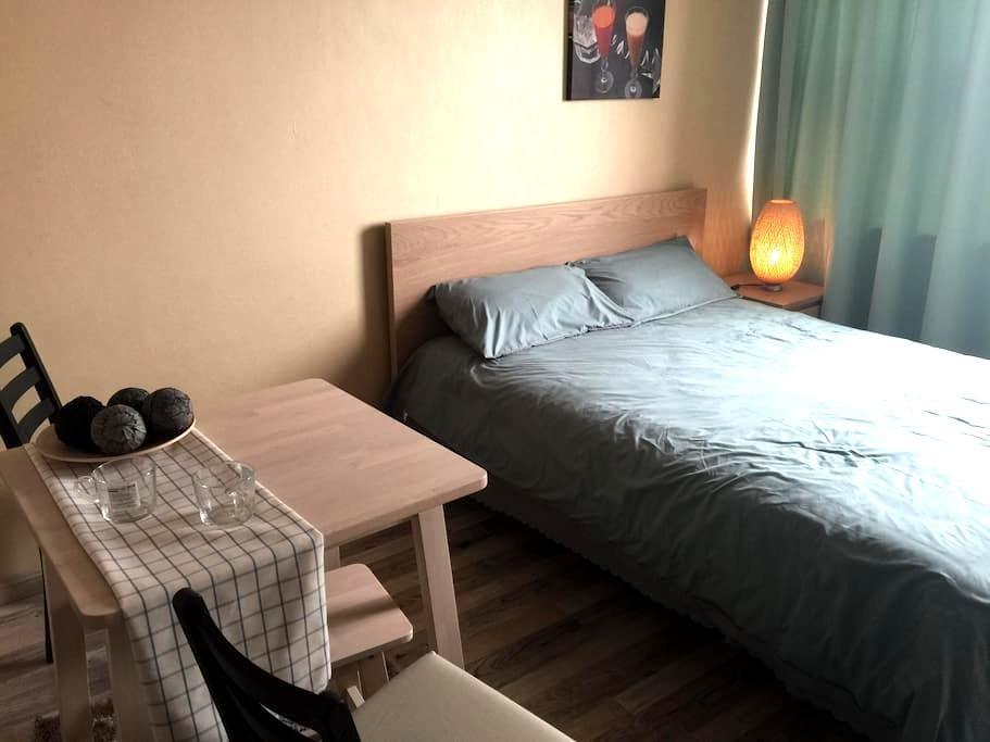 超值享受,酒店公寓,大连中心街区,是家庭度假的理想选择! - Dalian - Leilighet
