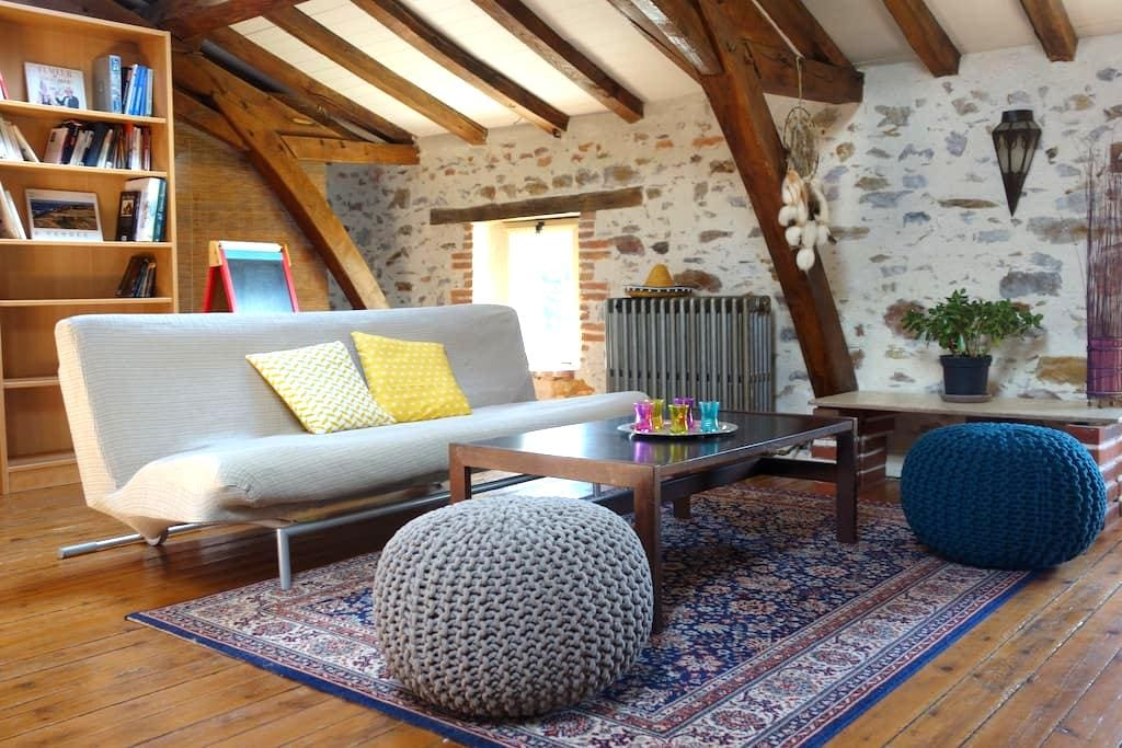 Petite maison rurale, chaleureuse - Aubigny - Дом