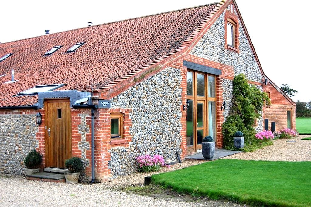 Homefield Barn Studio - 2 miles from the sea - Trunch - Lejlighed