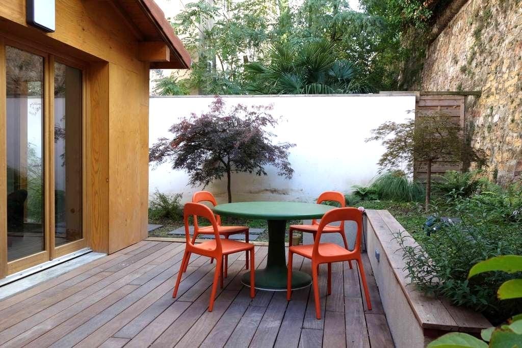 a house with garden in Croix-Rousse - Lyon - House