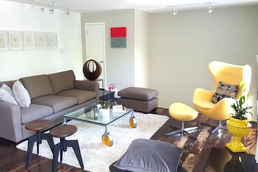 Beautiful room in Atlanta´s suburbs - Roswell - Departamento