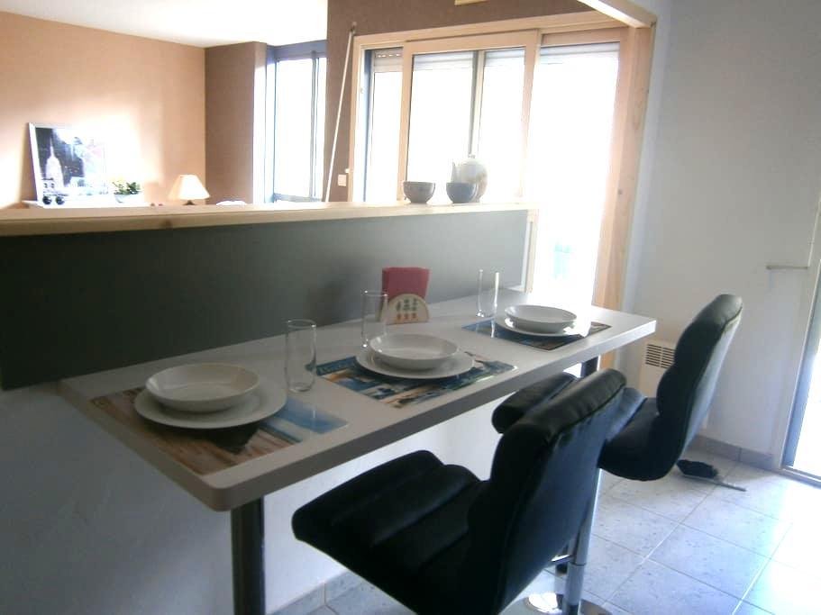 Appartement 3P, entre le Mt St Michel et St-Malo - Dol-de-Bretagne - Lejlighed
