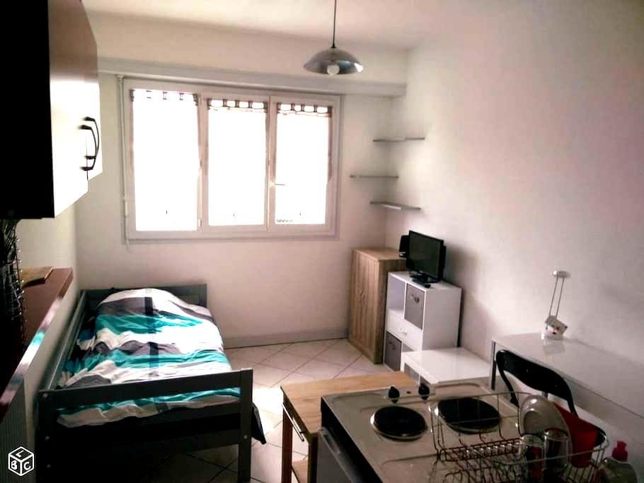 Studio moderne & lumineux avec internet/fibre - Pau - Apartament